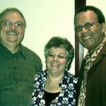 Al & Deb Warner with Bishop Joseph Garlington