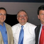 Al Warner with Anthony Nanula and Rev. Jon Hasselbeck